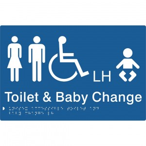 Unisex Accessible Toilet & Baby Change – LH