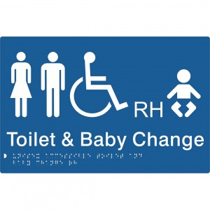 Unisex Accessible Toilet & Baby Change – RH