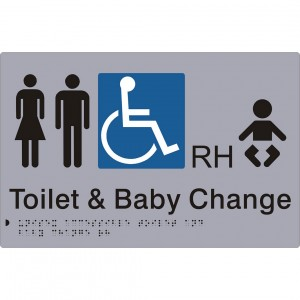 Unisex Accessible Toilet and Baby Change – RH