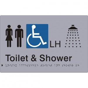 Unisex Accessible Toilet and Shower – LH