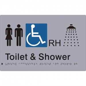 Unisex Accessible Toilet and Shower – RH