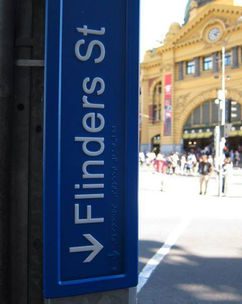Melb CBD Street Signs