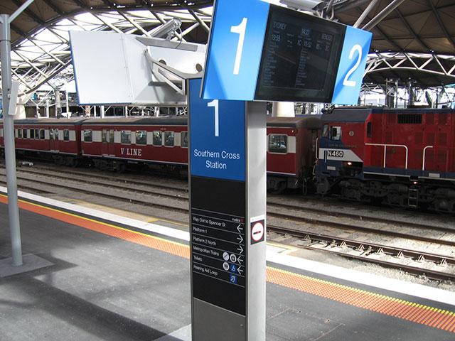 southern cross station - photo #37