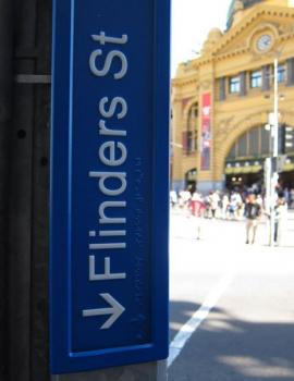 Melbourne CBD Street Signs, VIC